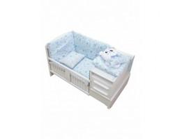 روتختی نوزادی 7 تکه دامبو آبی