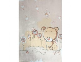 فرش خرس تنها