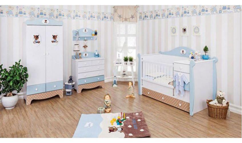 اتاق نوزاد آپادانا مدل تدی